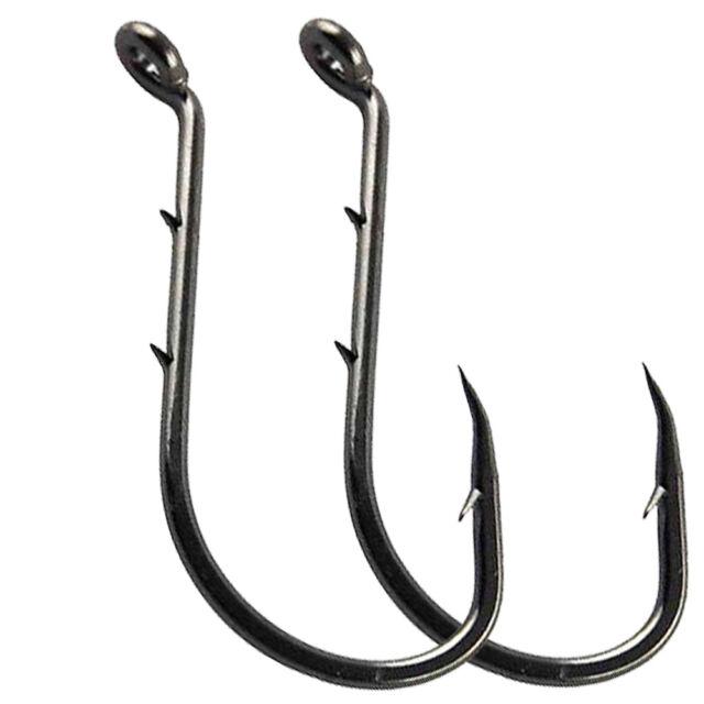 100 4//0 Circle Octopus Fishing Hooks black nickel wholesale bulk fishing hooks