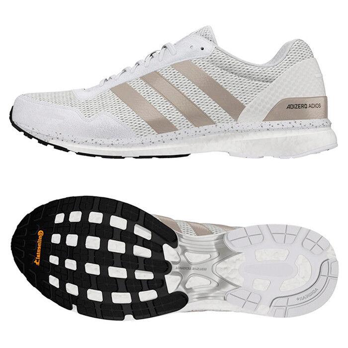 Adidas Women's Adizero Adios Running Shoes (BB6409) Training Trainers White