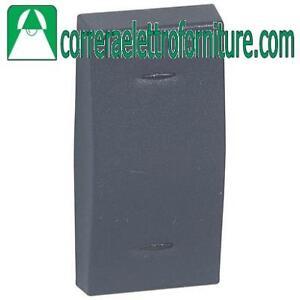 LEGRAND-VELA-Copritasto-1-mod-antracite-per-interruttori-pulsanti-682913