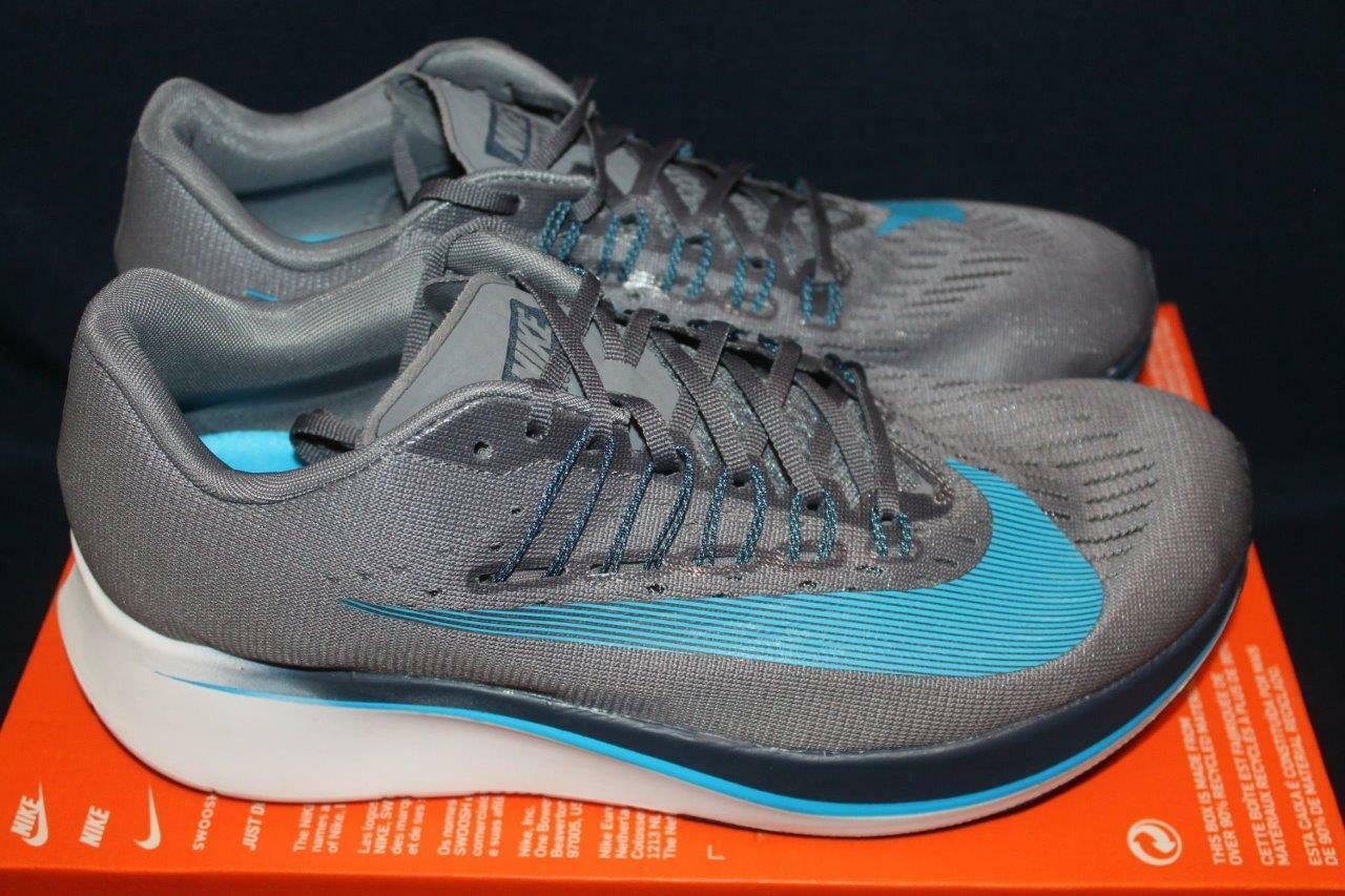 Nuevos Zapatos Deportivos NIKE para hombre ZOOM FLY gris 880848-005