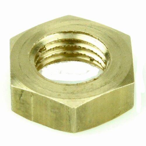 "Brass 3//8/"" UNF Half Nut"