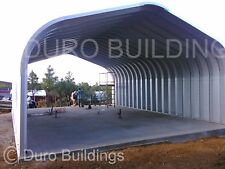 Durospan Steel 20x20x12 Metal Diy Home Building Kit Open Ends Factory Direct