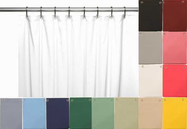 Heavy Duty Vinyl Shower Curtain Liner