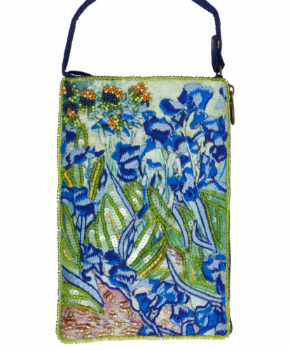 Bamboo Trading Company Cell Phone or Club Bag Irises