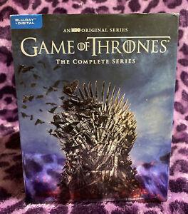 Game of Thrones Complete 1-8 Seasons Blu-Ray COMPLETE SERIES- Used