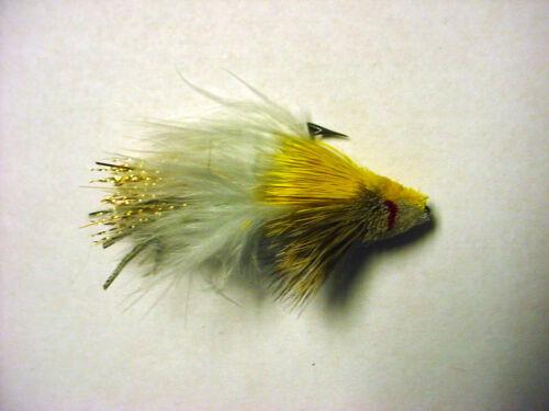 Hank Roberts premier Mini diver gold SZ 6 Saltwater Flies 12