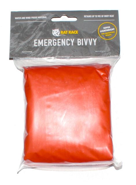 Rat Race Emergency Waterproof Survival Bivvy Bag Sleeping Camping Outdoor