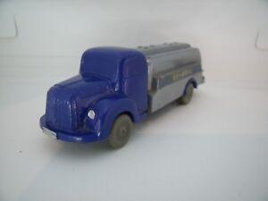 WIKING-MERCEDES-BENZ-L-3500-ARAL-Camion-Citerne-TANKER-Plastique-1-87-TOP