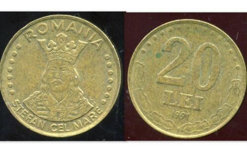 ROMANIA ROUMANIE 20 lei 1991 ca