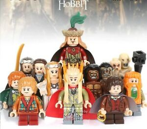 Lord Of The Rings The Hobbit Ring Wraiths Mini Figures use with lego 3