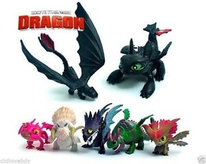 How-To-Train-Your-Dragon-Toothless-Figurine-PVC-Figure-Play-Set-7pcs-Playset