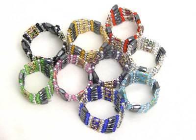"""SALE Wholesale 10X Cloisonne Hematite Magnetic Bead 29"""" Bracelet/necklace-who110"""