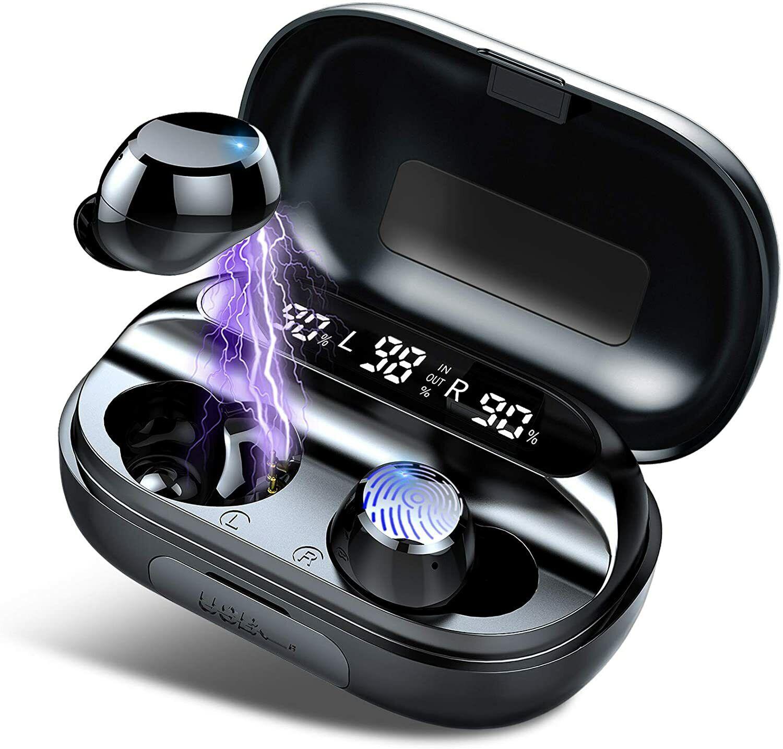 ENVIO DESDE ESPAÑA- Auriculares Bluetooth 5.0 Inalámbricos S Deportivos In Ear