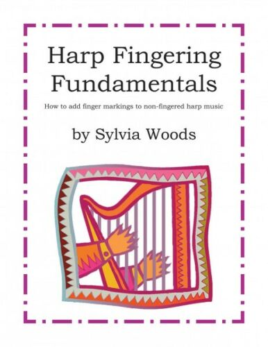 Harp Fingering Fundamentals How to Add Finger Markings to Non-Fingered 000155944