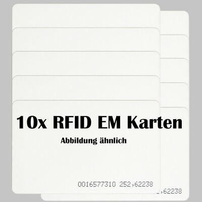 20x RFID Chip Ausweis Token Zeiterfassung für ANVIZ Safescan Timemoto ELV 125kHz