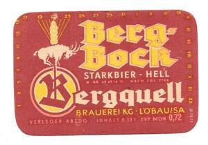 DDR-BE-Bergquell-Brauerei-Loebau