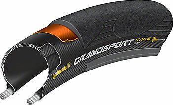 Continental Grand Sport Race Tire 27 x 1-1//4 Steel Bead Black