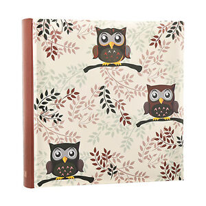 Owl design Photo  6'x4' Album Slip In Case Memo Album for 200 photos AL-9770 5060441997708