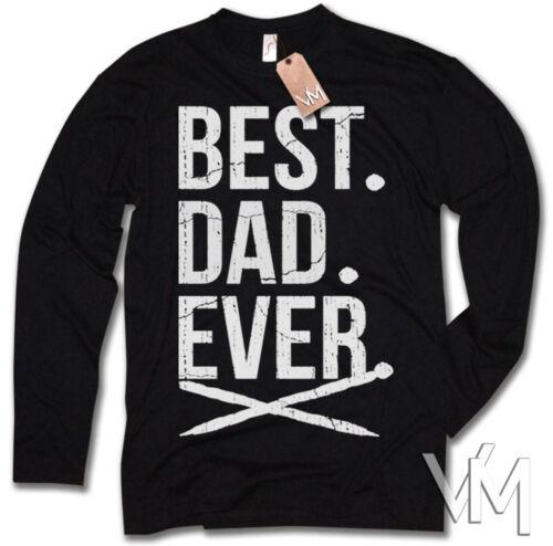 BEST DAD EVER LONGSLEEVE Langarmshirt Weihnachten Bester Papa Vater Geschenk