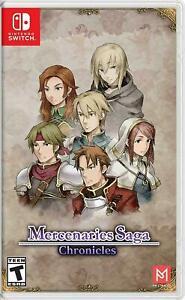 Nintendo-Switch-Mercenaries-Saga-Chronicles-Brand-New-Rare