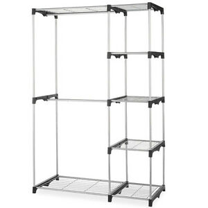 Merveilleux Image Is Loading Closet Organizer Storage Rack Portable Clothes Hanger Home