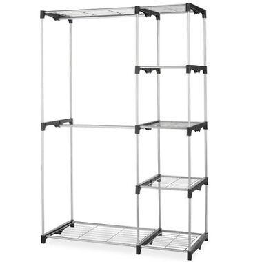 BestHome Closet Organizer Storage Rack