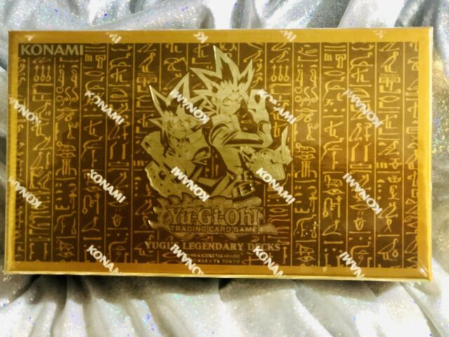 Yu-Gi-Oh! Cards ✨ Yugi Legendary Decks Collector's Box Set-1 ✨New & Sealed!✨YGLD
