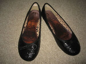 Nuevos Zapatos Planos Para Mujer Negro. Debenhams, Reino Unido 6.