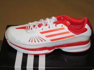 rouge W Adizero Tempaia Femmes Tennis Chaussures Adidas Blanc Baskets xSUBP0q