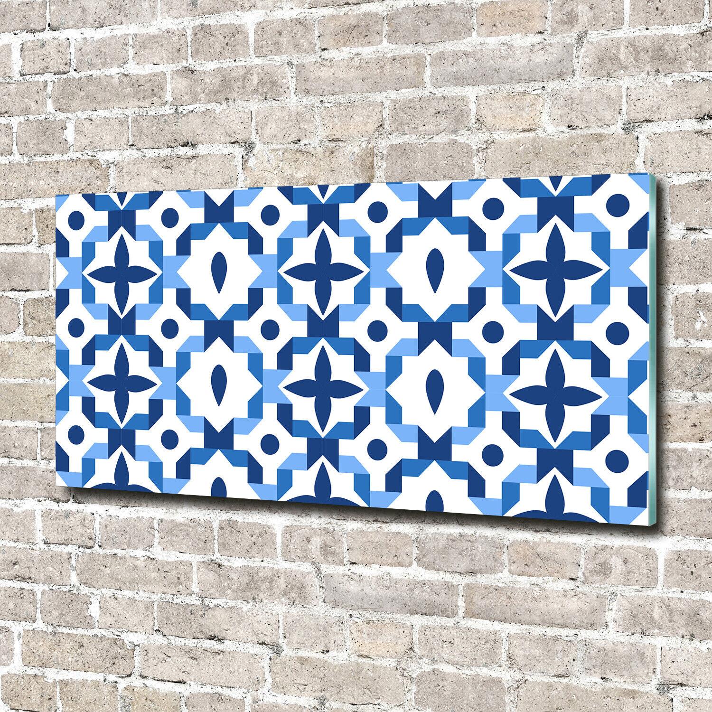Wandbild aus Plexiglas® Druck auf Acryl 140x70 Sonstige Geometrische Figuren