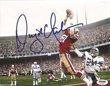 Dwight Clark The Catch 49ers Signed Auto 8x10 Photo PSA/DNA COA