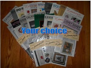 CHARLEY-HARPER-IN-STITCHES-counted-cross-stitch-charts-YOUR-CHOICE-new-amp-unused