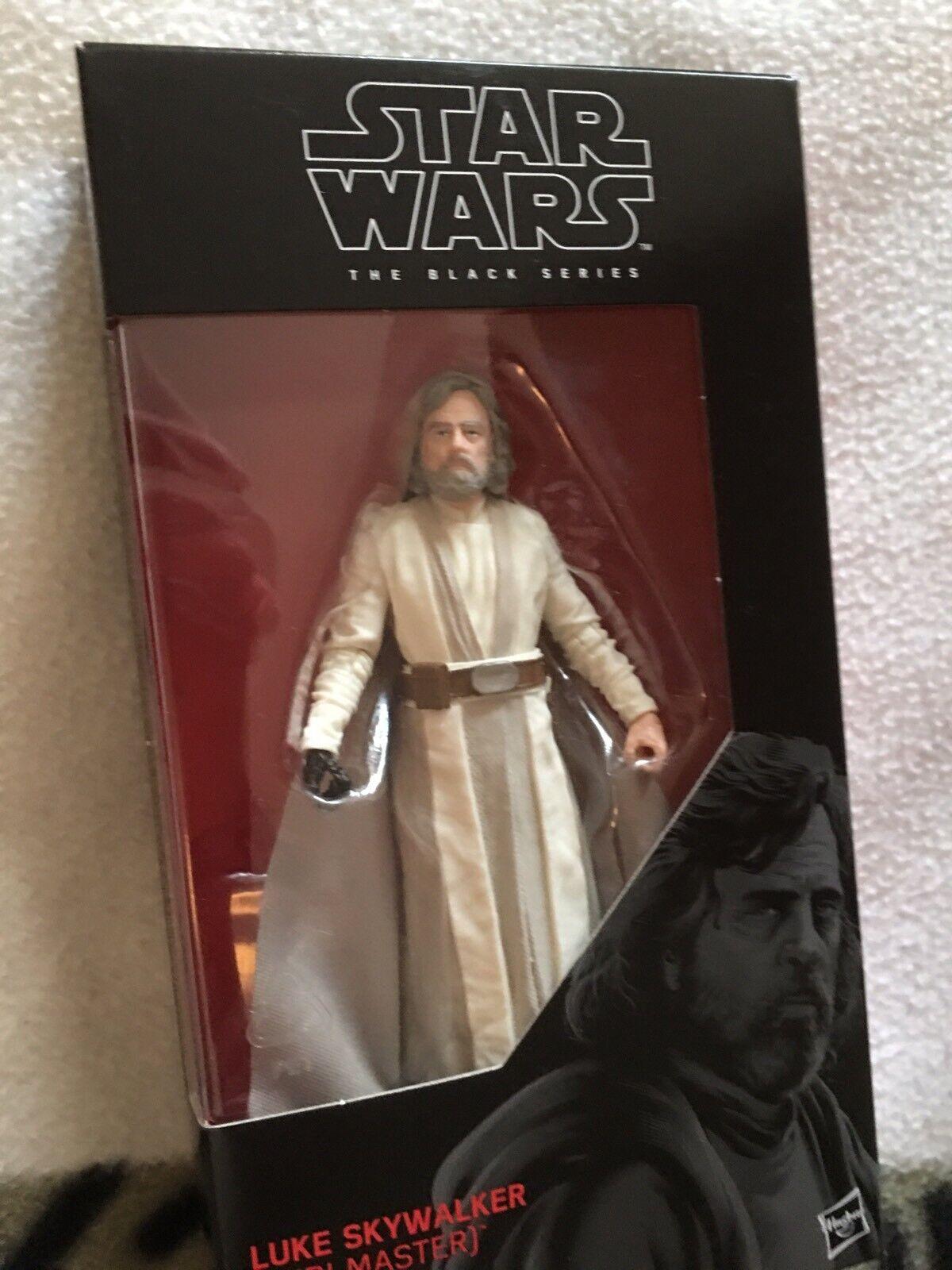 estrella guerras EPISODIO 8 l'ultimo Jedi Luke cielowalker Nero Serie Serie Serie cinque pollici cifra 7ac531