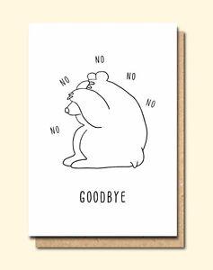 Funny greetings card leaving new job humour fun no no good image is loading funny greetings card leaving new job humour fun m4hsunfo
