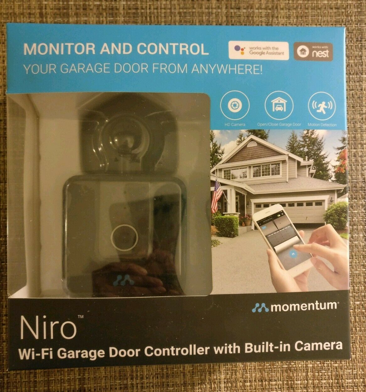 Momentum MOGA-001 Niro WiFi Garage Controller with In Camera