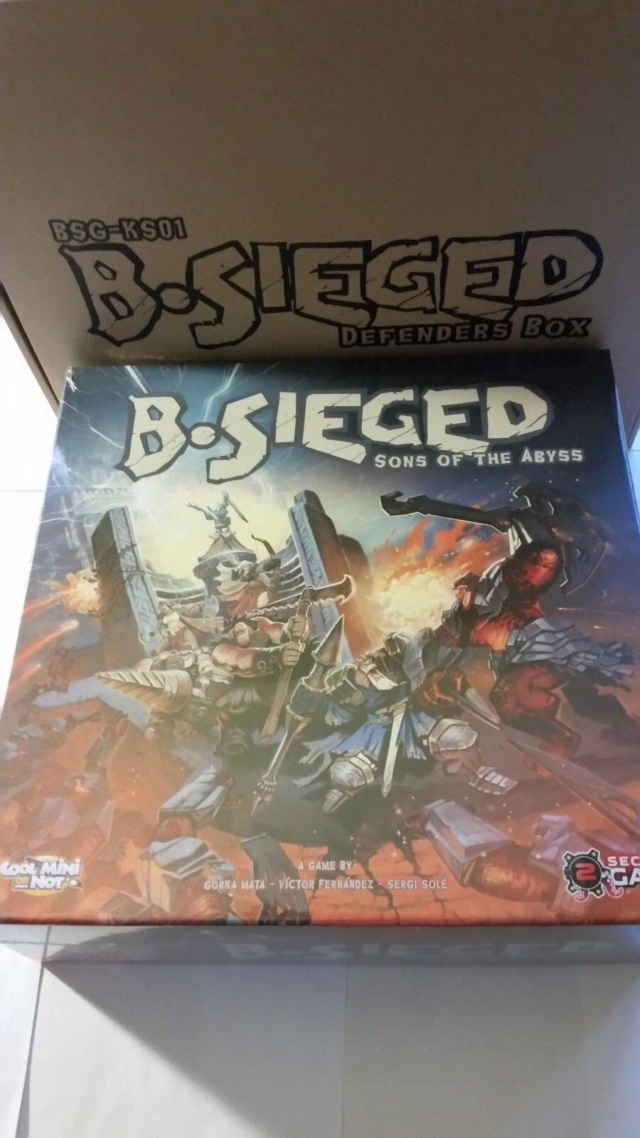 B-sieged Sons of the  abyss pédale de démarrage Defender Gage  sortie de marque
