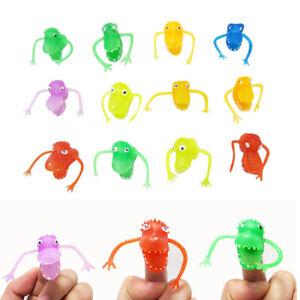 Finger-Cartoon-Puppet-Toy-Animal-Dinosaur-Plastic-Figure-Toys-Mini-Hand-Puppets