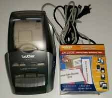 Brother Ql 570 Label Printer With Cords Amp Extra Label Roll