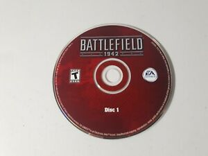 Battlefield 1942 Disc 1 PC Game Very Good Condition Disc Only