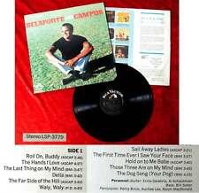 LP Harry Belafonte: Belafonte on Campus (RCA Victor LSP-3779) US 1967