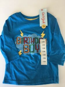 Image Is Loading NWT Birthday Shirt Toddler Boy T