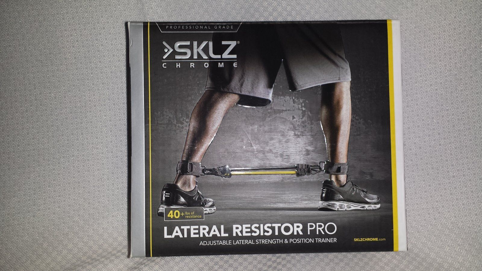 SKLZ Chrome Lateral  Resistor Pro Adjustable Lateral Strength and Position  70% off cheap