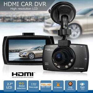 New Full HD 1080P 2.3″ Car DVR CCTV Dash Camera G-sensor Night Vision RecorderFH