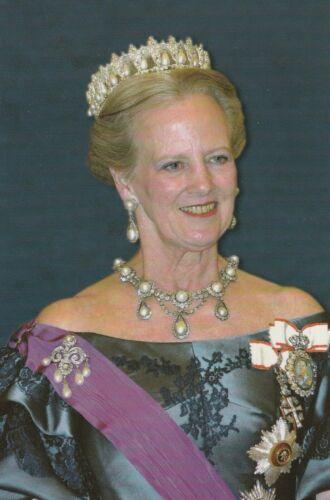 ***ORIGINAL POSTCARD***KÖNIGIN MARGRETHE-Adel-ROYAL-COPENHAGEN-Monarchie