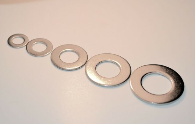 A2 Stainless Steel Form B Flat Washers  M5 M6 M8 M10 M12 Thin Type Washers