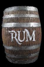 Barrel Keg Pirate Western Saloon Rum Halloween Jack Sparrow skull prop