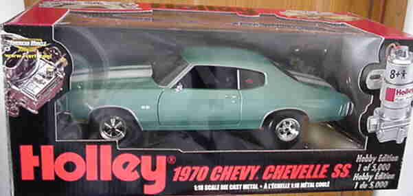 1970 Chevelle SS454 Turquoise 1 18 18 18 Ertl American Muscle 33444 1c4d55