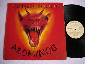 Uriah Heep Abominog Label Bronze Bron 538 Lp Album Uk Press Ebay