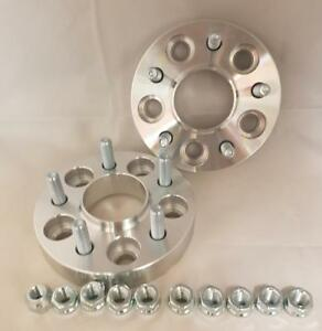 Ford Mondeo Mk3 and Mk4 inc ST 5x108 25mm per side Hubcentric wheel spacers