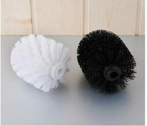 Replacement Stainless Steel WC Bathroom Cleaning Toilet Brush Head Holders VL4